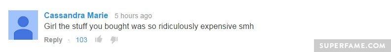 Too expensive.