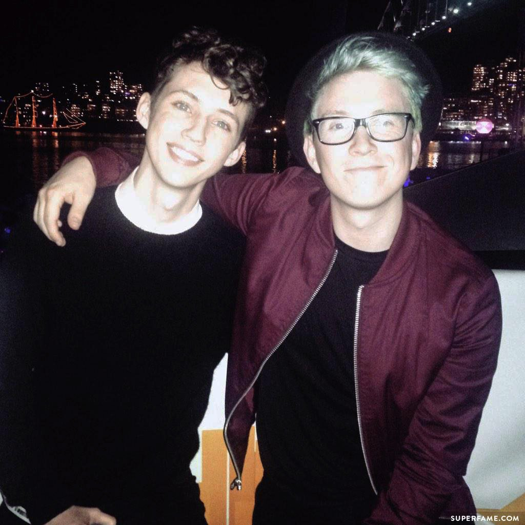 Tyler joined Troye at Telstra.