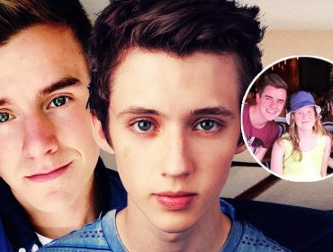 Did Connor Franta and Troye Sivan kiss?