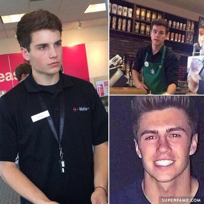 Kieran From T-Mobile, Steve From Starbucks and Matt From Red Robin.