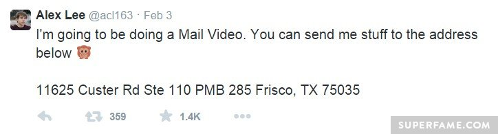 Mail video.