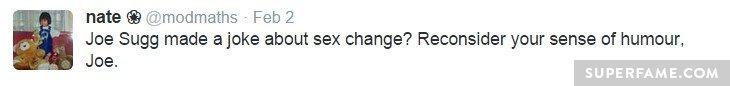 No to sex change.