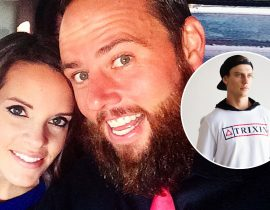 Shaycarl and wife Katilette.