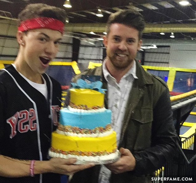 Taylor Caniff celebrates birthday.