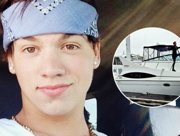 Taylor Caniff's yacht.