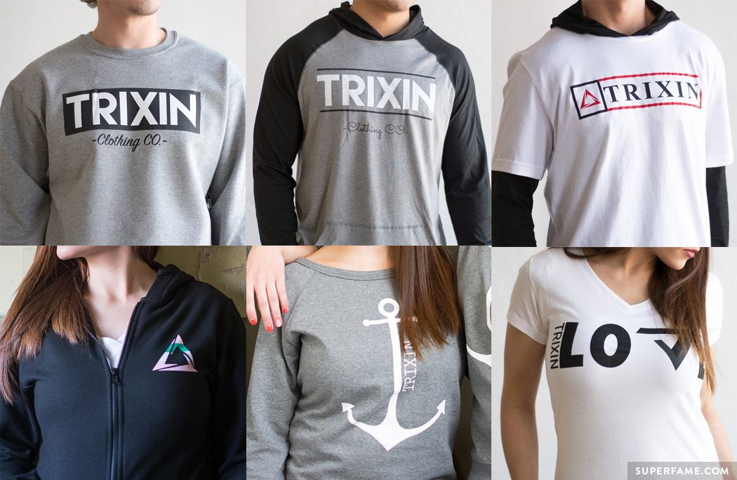 Trixin House clothing.
