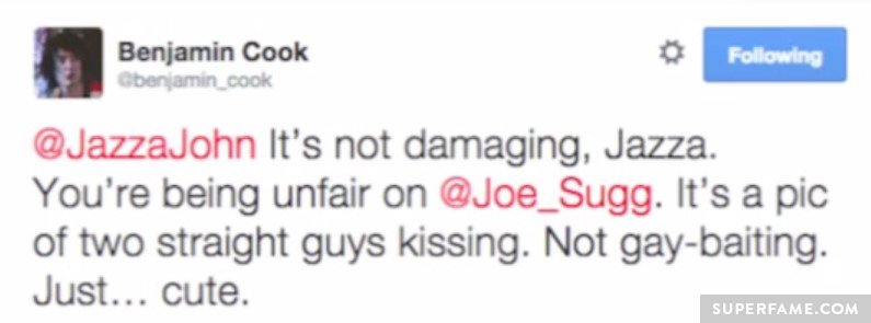 Unfair on Joe!