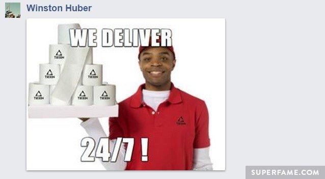 We deliver!