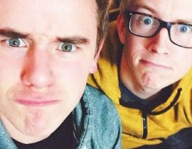 Connor Franta and Tyler Oakley.