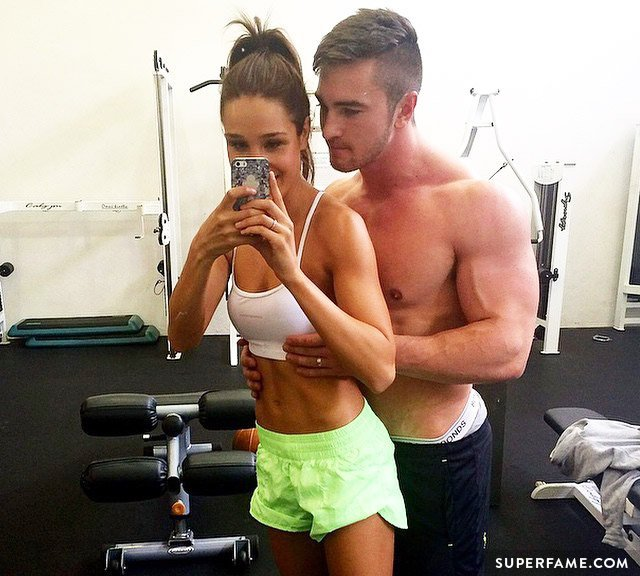 Kayla Itsines and Tobi (Tobias Pearce)