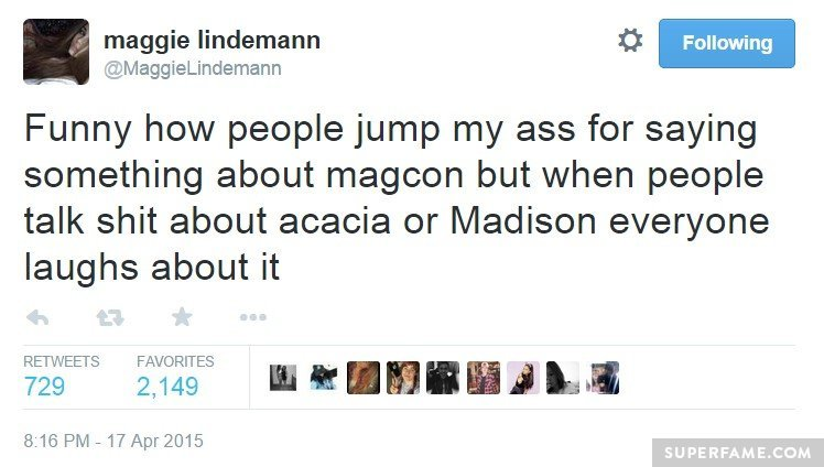 Acacia and Madison.
