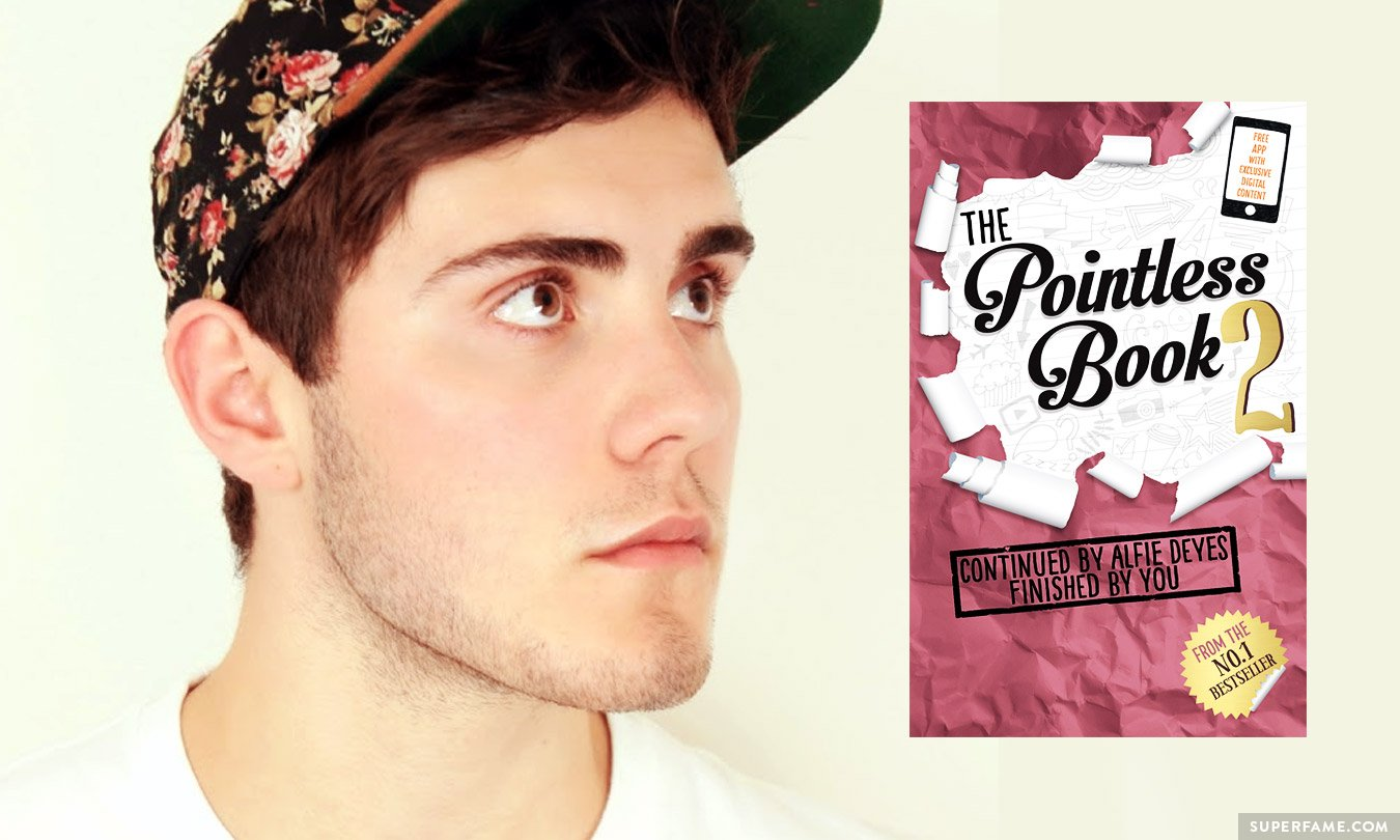Alfie Deyes Book Alfie Deyes' The Pointless