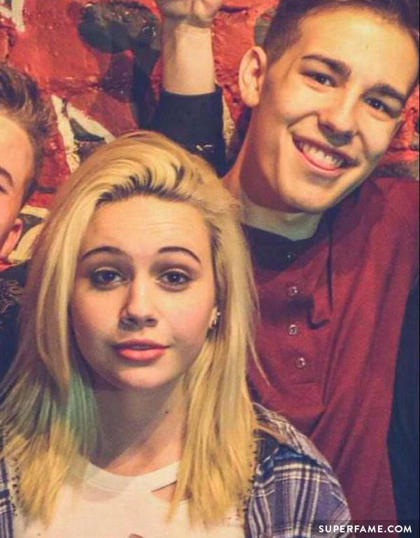 Bea Miller with Jacob.