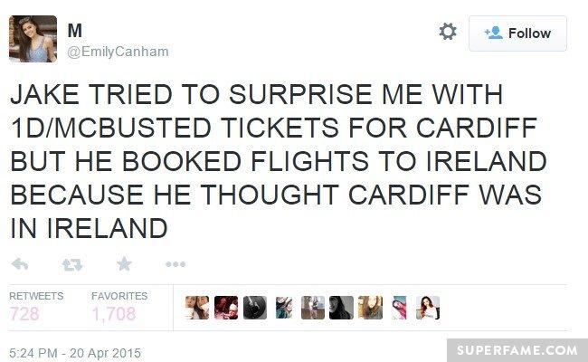 Cardiff?