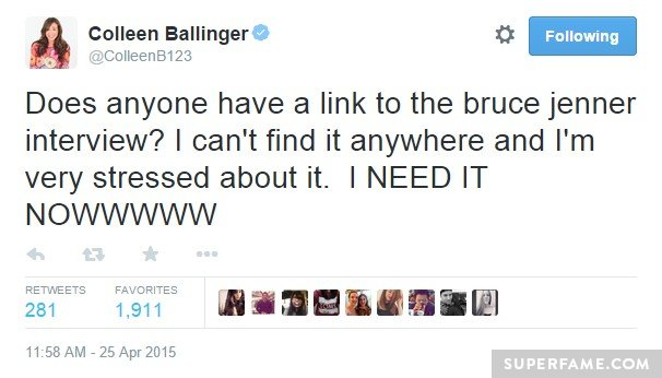 Colleen Ballinger is stressed.