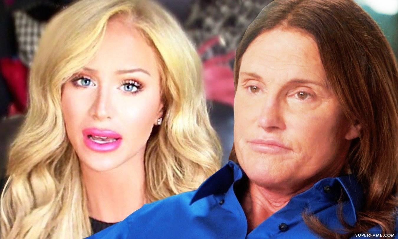 Gigi Gorgeous and Bruce Jenner.