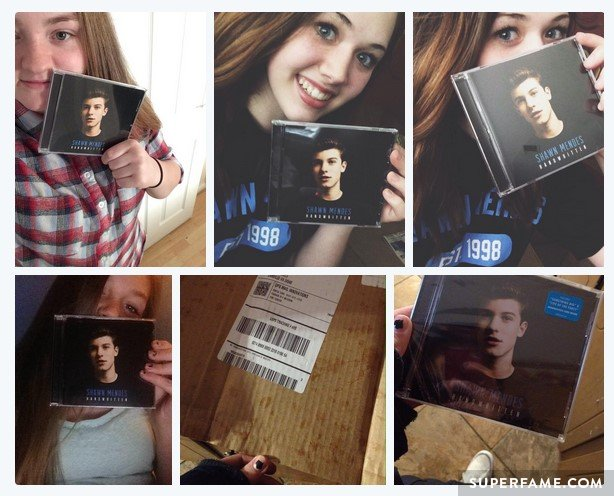 Fans buy Shawn Mendes' Handwritten.