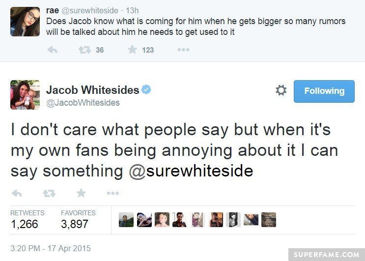 Jacob find it annoying.
