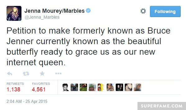 Jenna Marbles wants a queen.