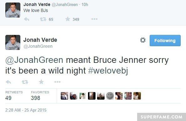 Jonah Green b*******.