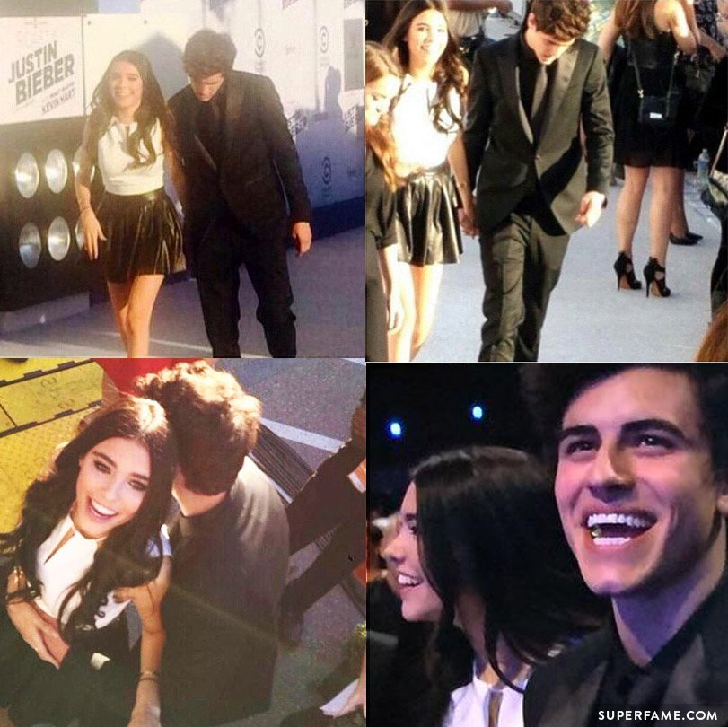 Jadison at the Roast of Justin Bieber.
