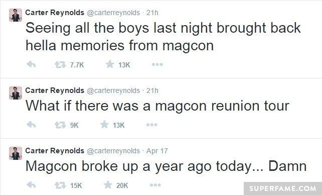 Magcon broke up.