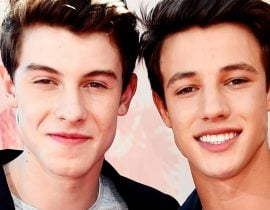 Shawn Mendes and Cameron Dallas.
