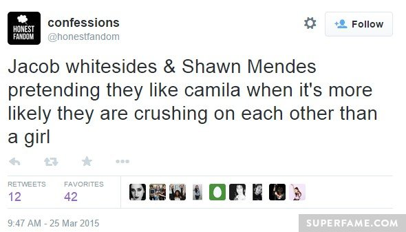 Shawn and Jacob in love!