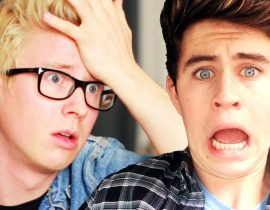 Tyler Oakley and Nash Grier.