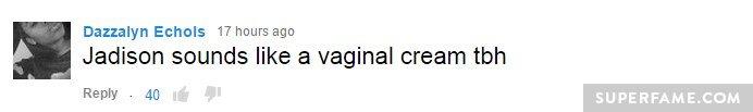 Vaginal cream!