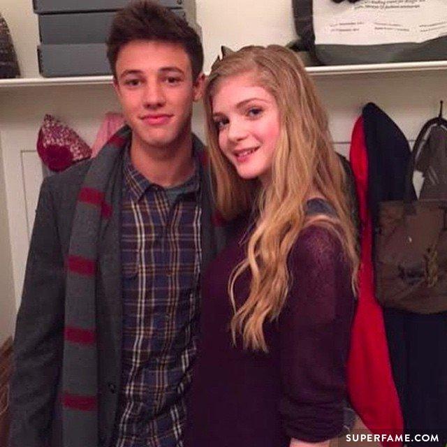 Cameron with Elena.