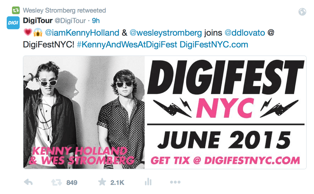 Digifest without Keaton?