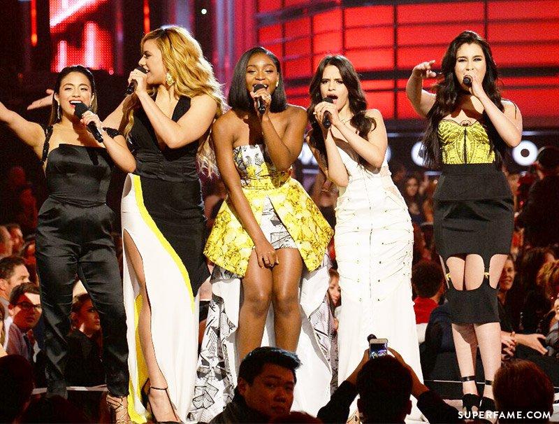 Fifth Harmony introducing.