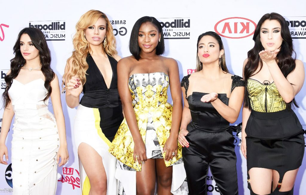Fifth Harmony on the red carpet of the BBMAs.