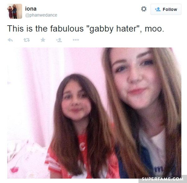 Gabby hater?