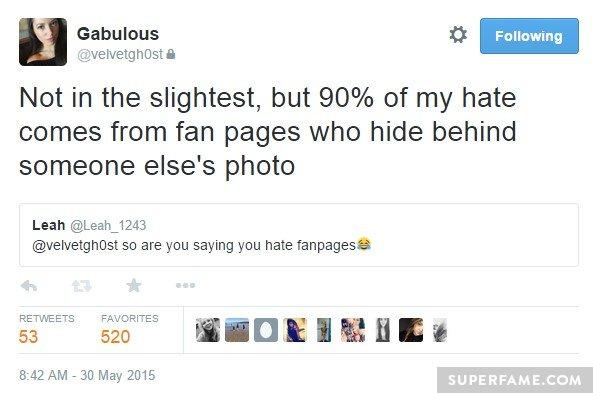 Hate photos.