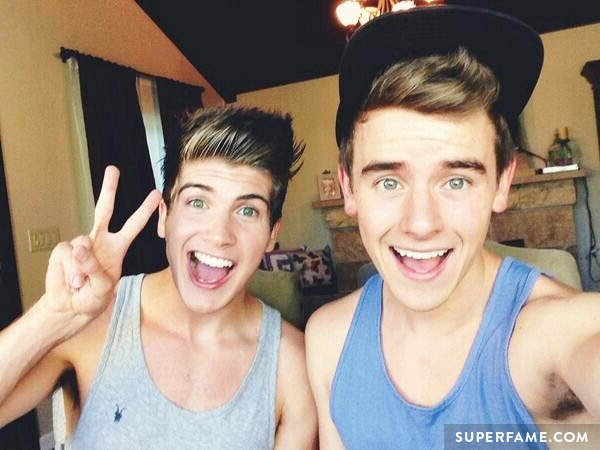 Joey Graceffa and Connor Franta.
