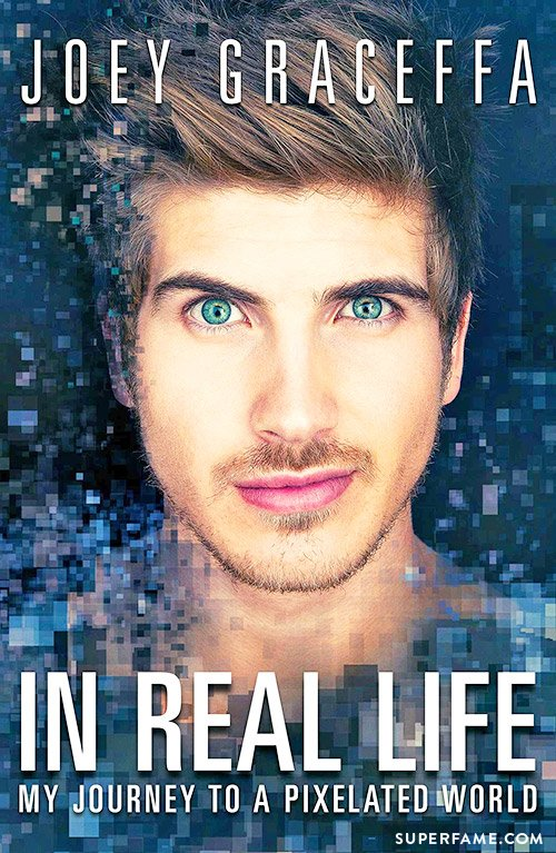 Joey Graceffa's new book.