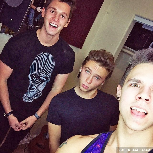 Keaton Stromberg, David Scarzone and Tyler Case.