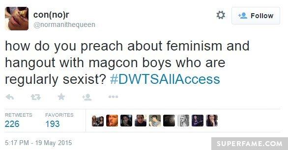 Regular sexist.