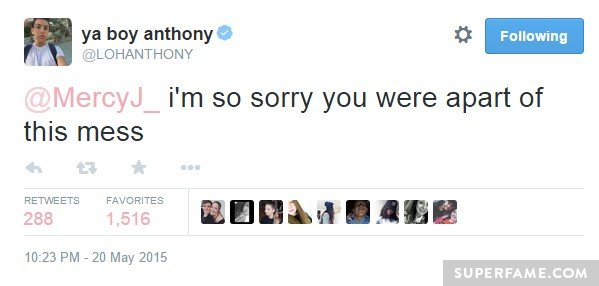 Sorry you!