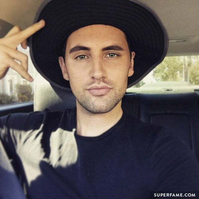 Alx James in a hat.