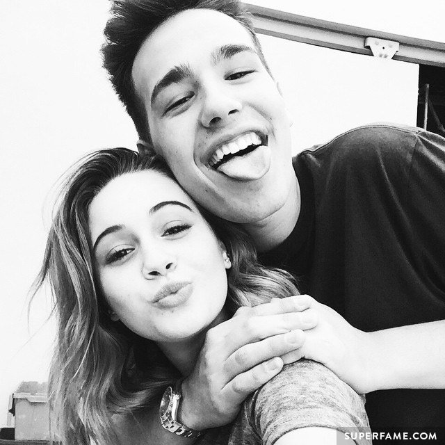 Bea Miller and Jacob Whitesides.