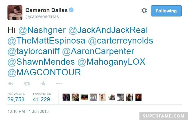 Cameron Dallas Tries To Guilt Trip The Magcon Boys Into Getting Back Together