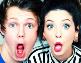 Caspar and Zoella.