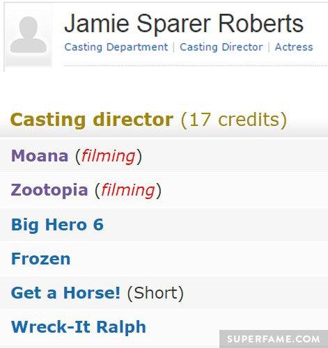 Jamie Sparer Roberts.