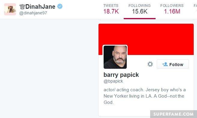 Dinah follows Barry.