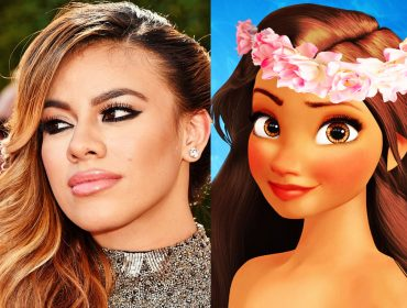 Dinah Jane as Moana?