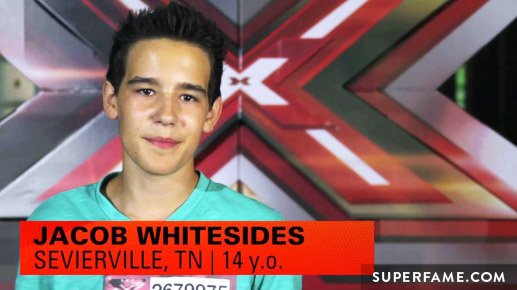 Jacob Whitesides on X Factor.