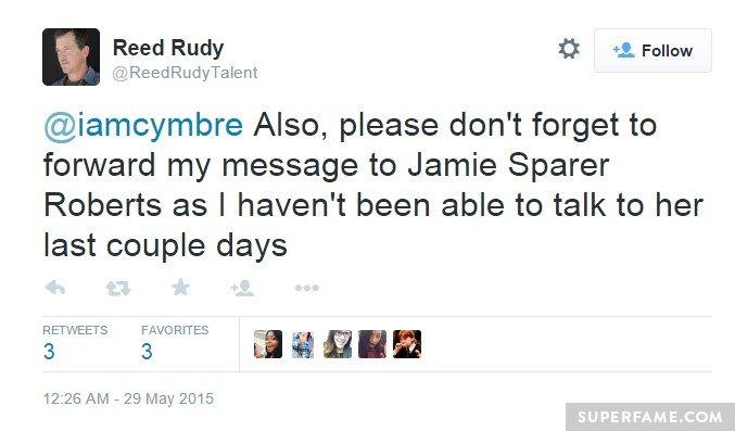 Talking to Jamie.